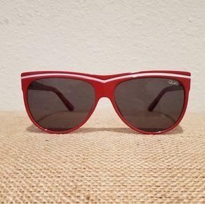 QUAY AUSTRALIA Red Sunglasses - Hollywood Nights